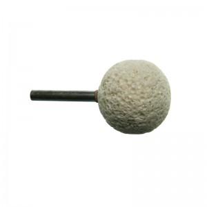 Muschelstein Kugelförmig, 38 mm